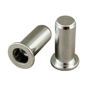 Stainless IN9410S Rivet Nut Large Flange Closed End