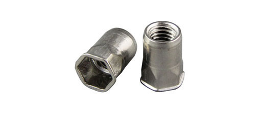 Hex Stainless Steel Rivet Nuts