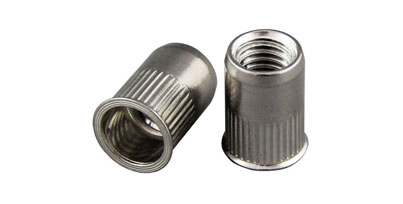Low Profile Stainless Rivet Nuts